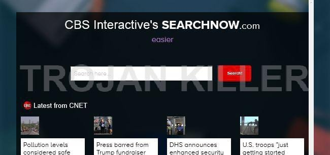 SearchNow.com virus