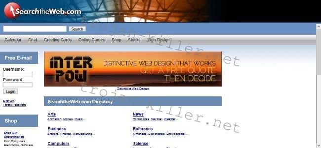 Searchtheweb.com - znebiti