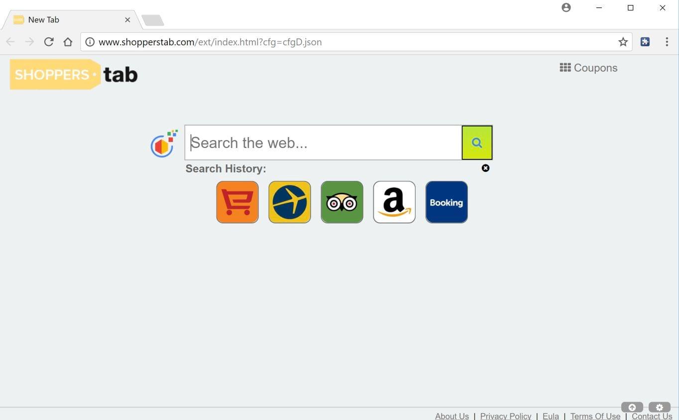 Shopperstab.com virus