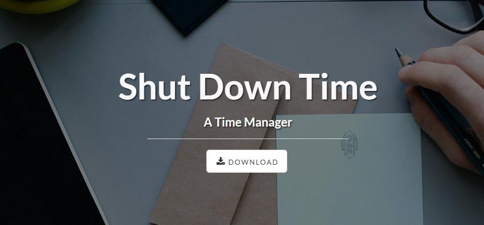 remove ShutDownTime