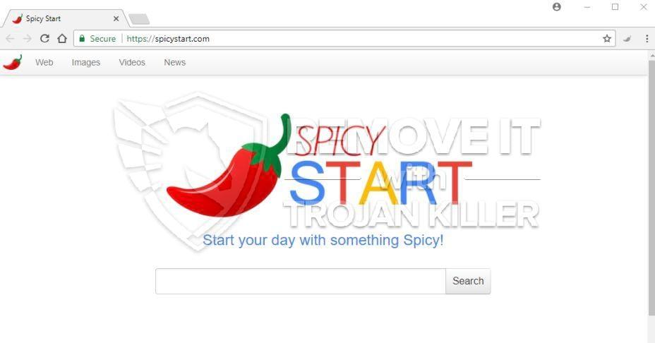 SpicyStart.com vírusu