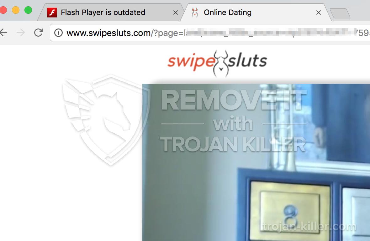 Swipesluts.com virus