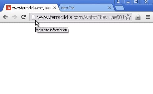 terraclicks.com redirect virus
