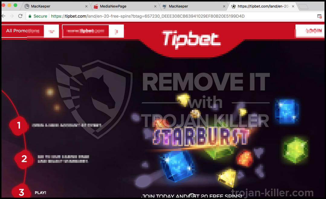 Tipbet StarBurst virus