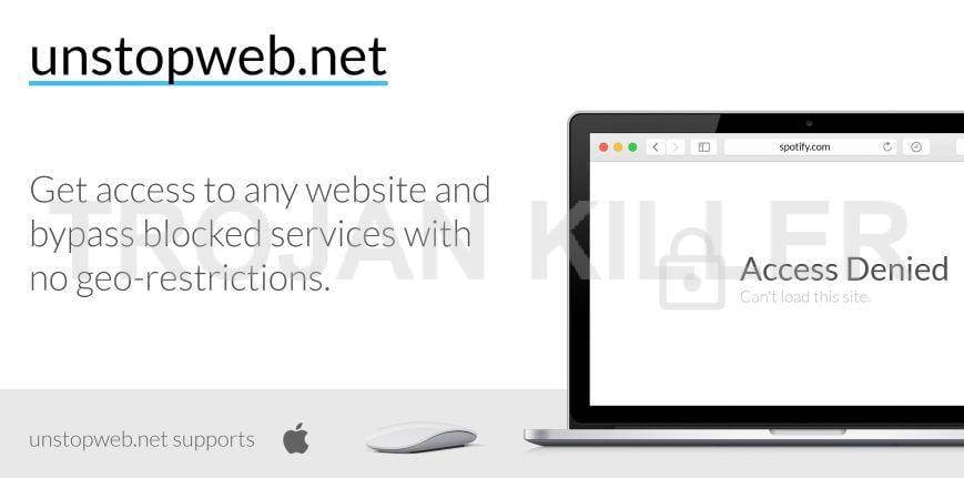 Unstopweb.net virus