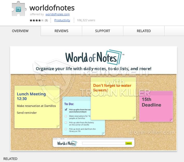 worldofnotes.com virus