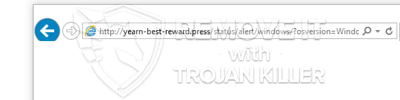 yearn-best-reward.press virus