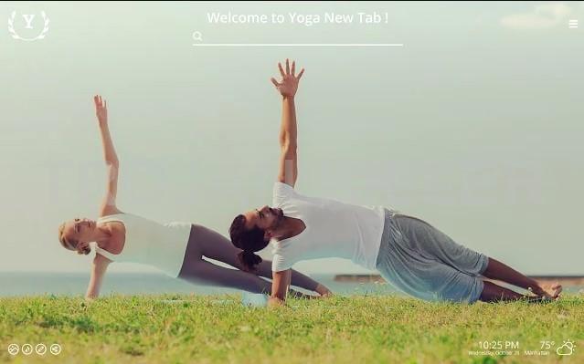 Yoga New Tab virus